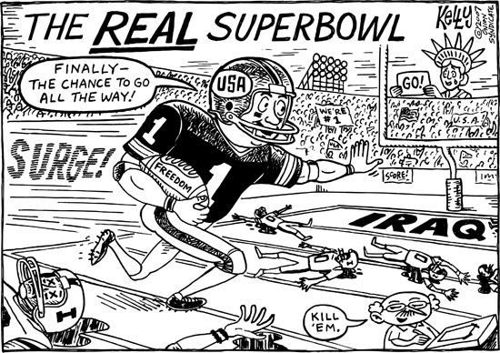 Suberbowl Cartoon