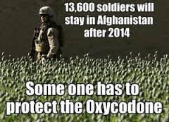 US troops oxy