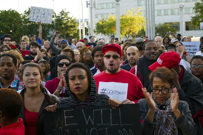 Detroit Mike Brown Protest