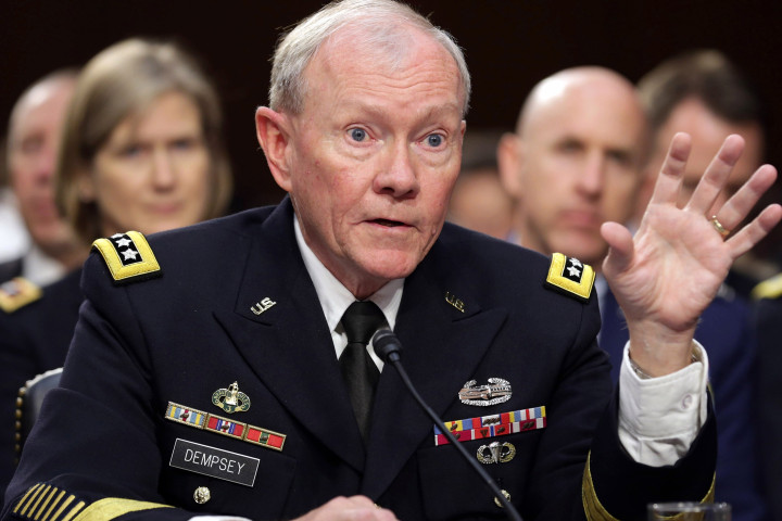 Senate Armed Services Committee Holds From Top Military Leaders On ISIL Threat