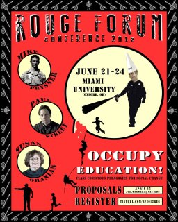 Rouge Forum Poster 2012
